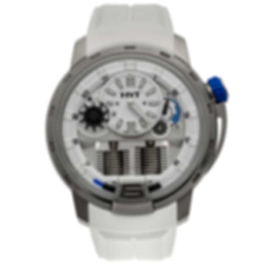 HYT H1 Iceberg Titanium Manual Wind Men's Watch 148-TT-11-BF-RW