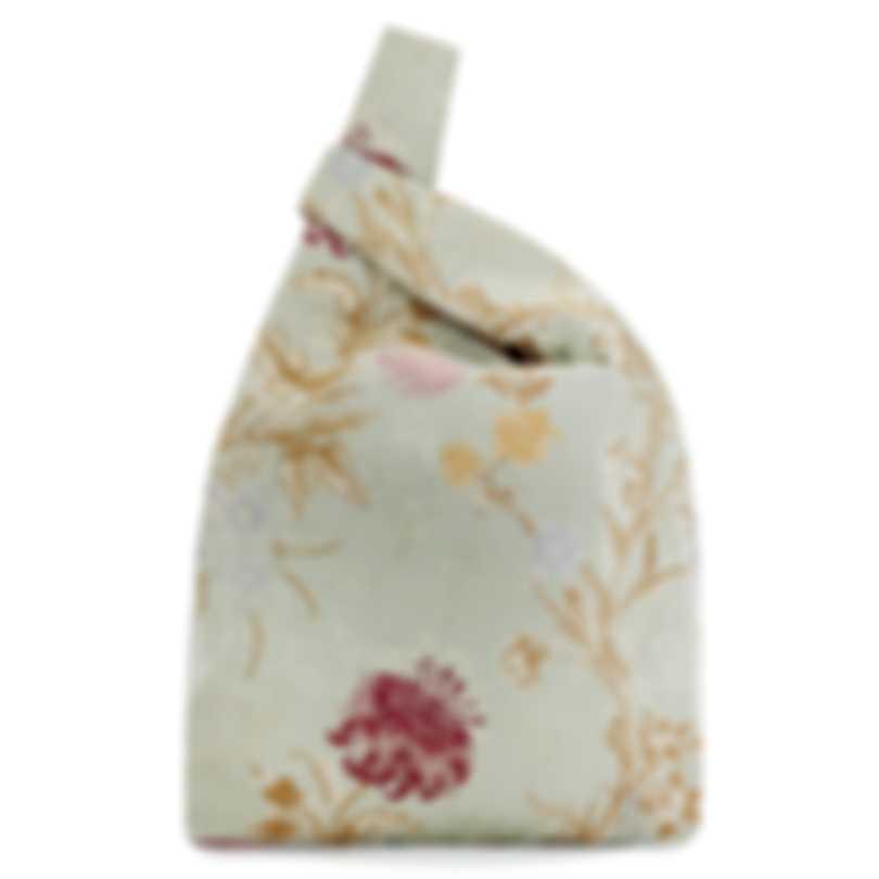 "HAYWARD ""Shopper"" Sage Malibu Venetian Jacquard Tote Bag - HL-06151 A"