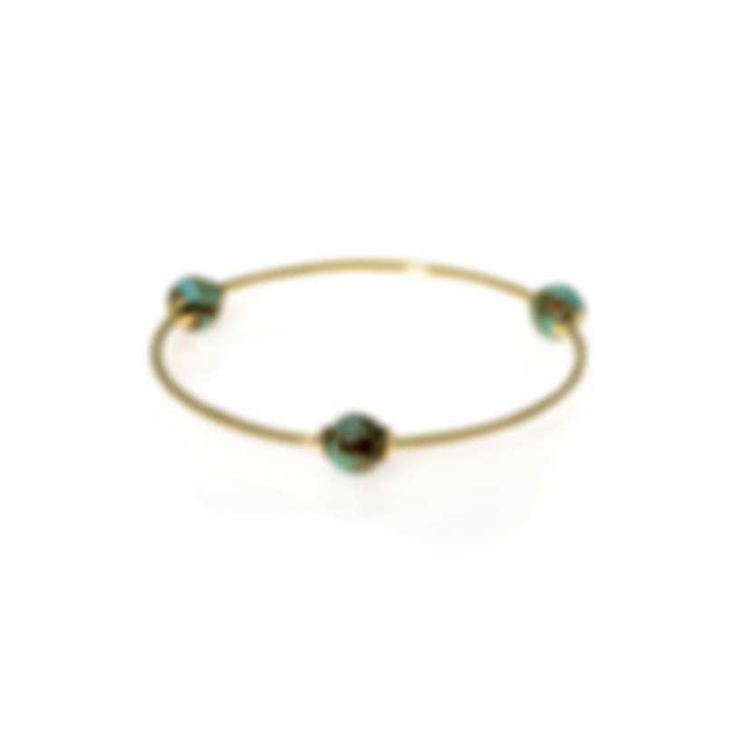 Ippolita 18k Yellow Gold And Turquoise Nova Bracelet GB1021TQGM