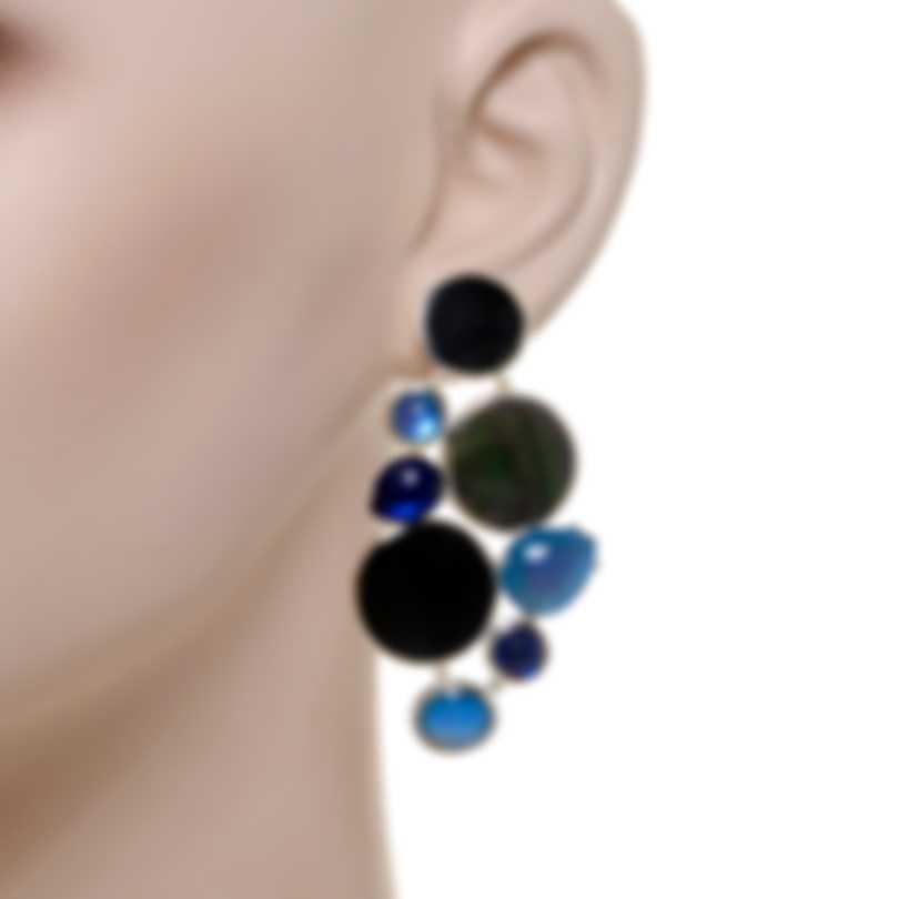 Ippolita Wonderland Sterling Silver And Rock Crystal Earrings SE2273ASTR0