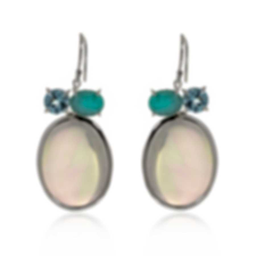 Ippolita Rock Candy Sterling Silver And Rock Crystal Earrings SE2358CASCATA