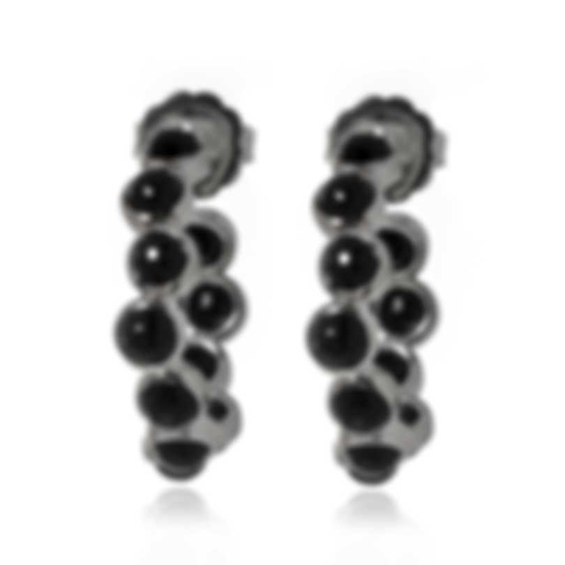 Ippolita Lollipop Sterling Silver And Onyx Earrings SE2415NX