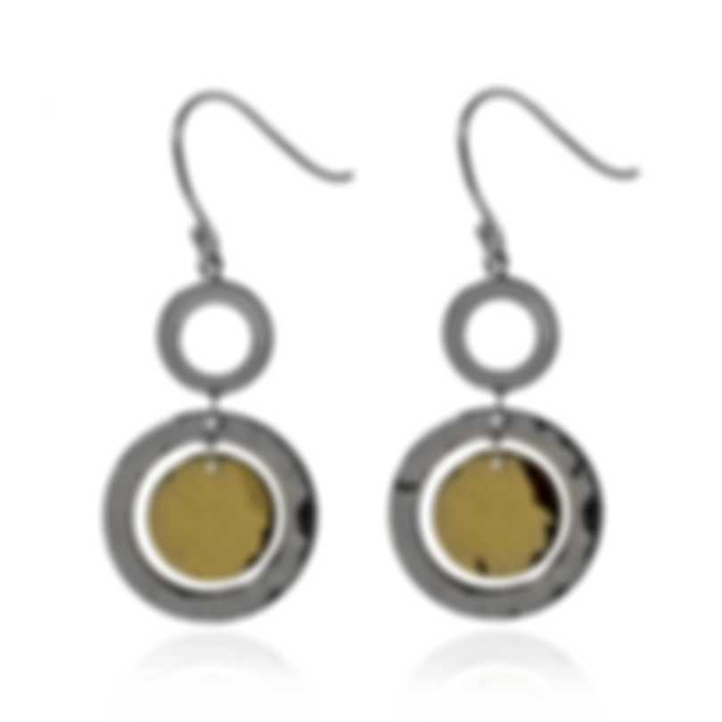 Ippolita Chimera Sterling Silver And 18k Yellow Gold Earrings SGE2393