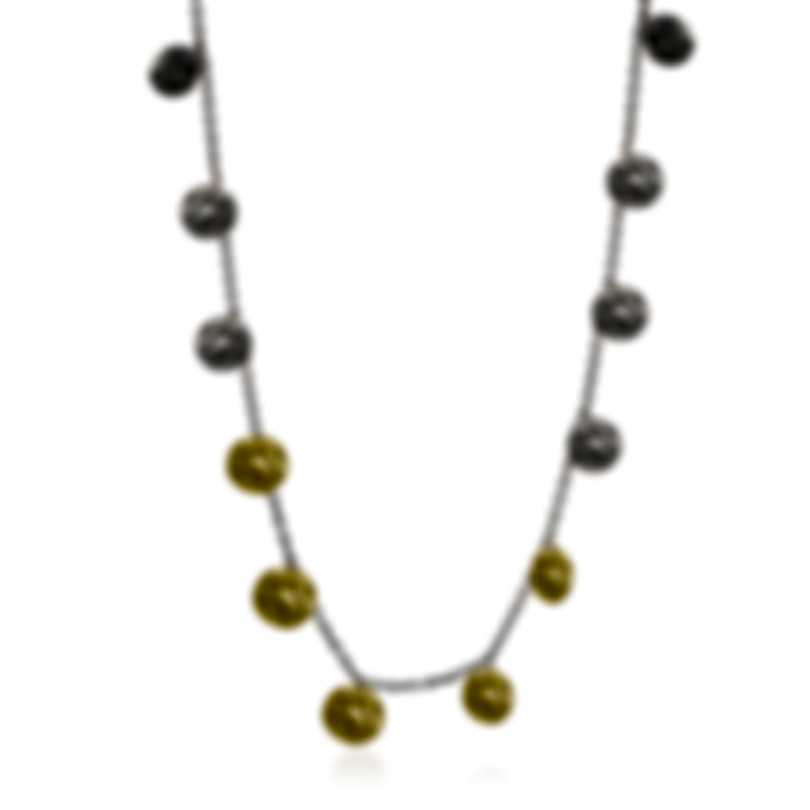 Ippolita Chimera Sterling Silver And 18k Yellow Gold Necklace SGN1755