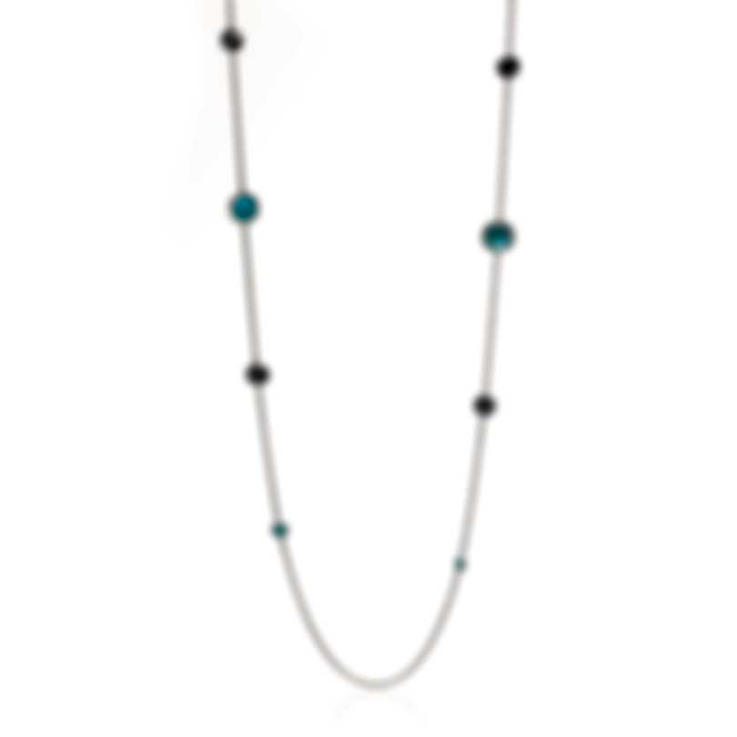 Ippolita Rock Candy Sterling Silver And Blue Topaz Necklace SN126MARITIME
