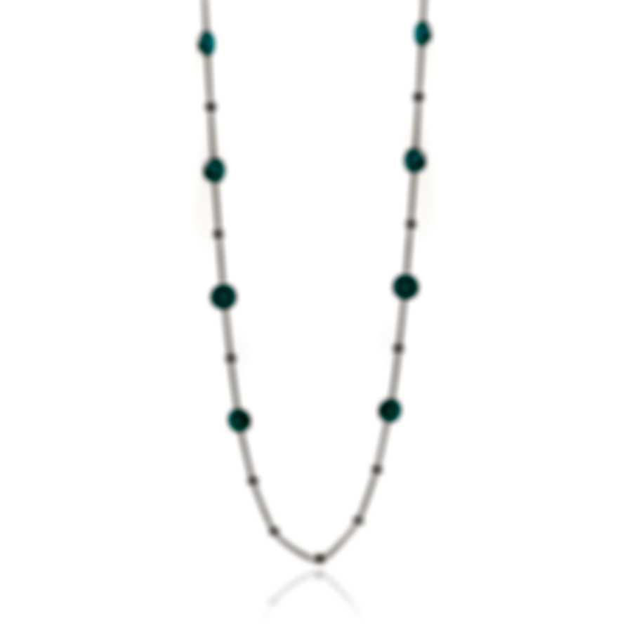 Ippolita Lollipop Sterling Silver And Turquoise  Necklace SN143DFTQ