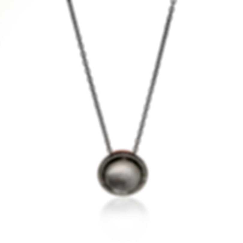 Ippolita Lollipop Silver Ceramic Diamond Mother Of Pearl Necklace SN1750DFMDIACP