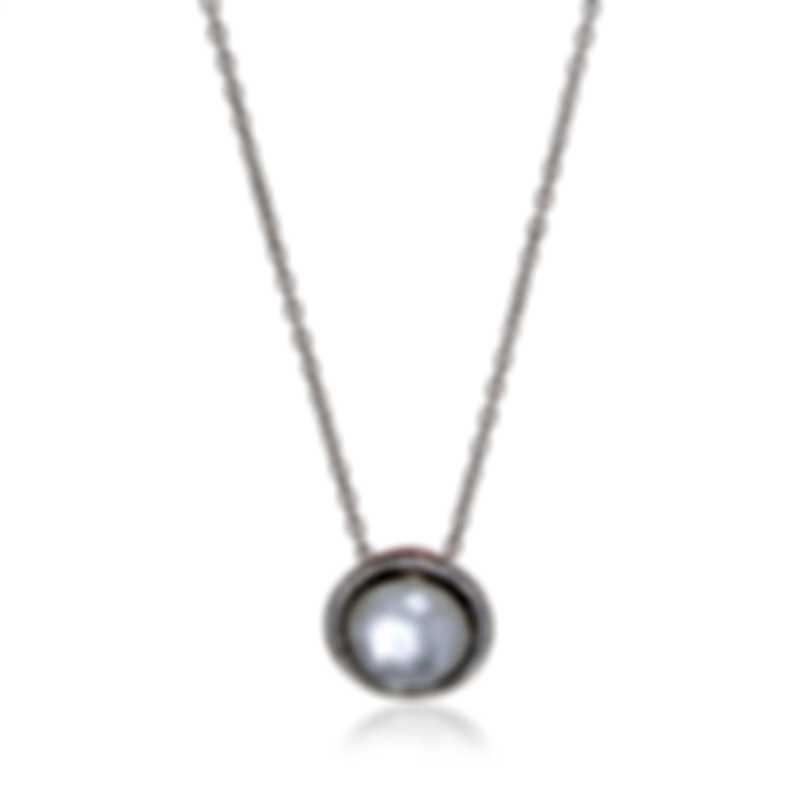 Ippolita Lollipop Silver Ceram Diamond Mother Of Pearl Necklace SN1750DFMDIAGR2