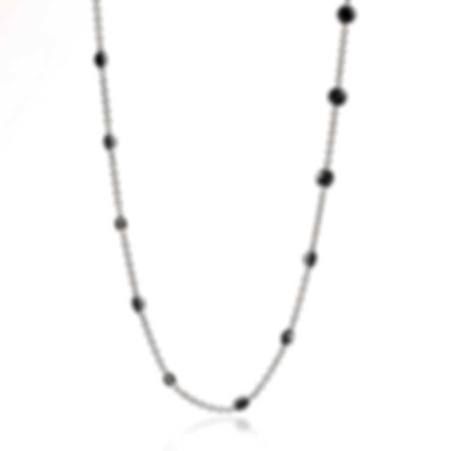 Ippolita Sterling Silver And Onyx Necklace SN1759NX