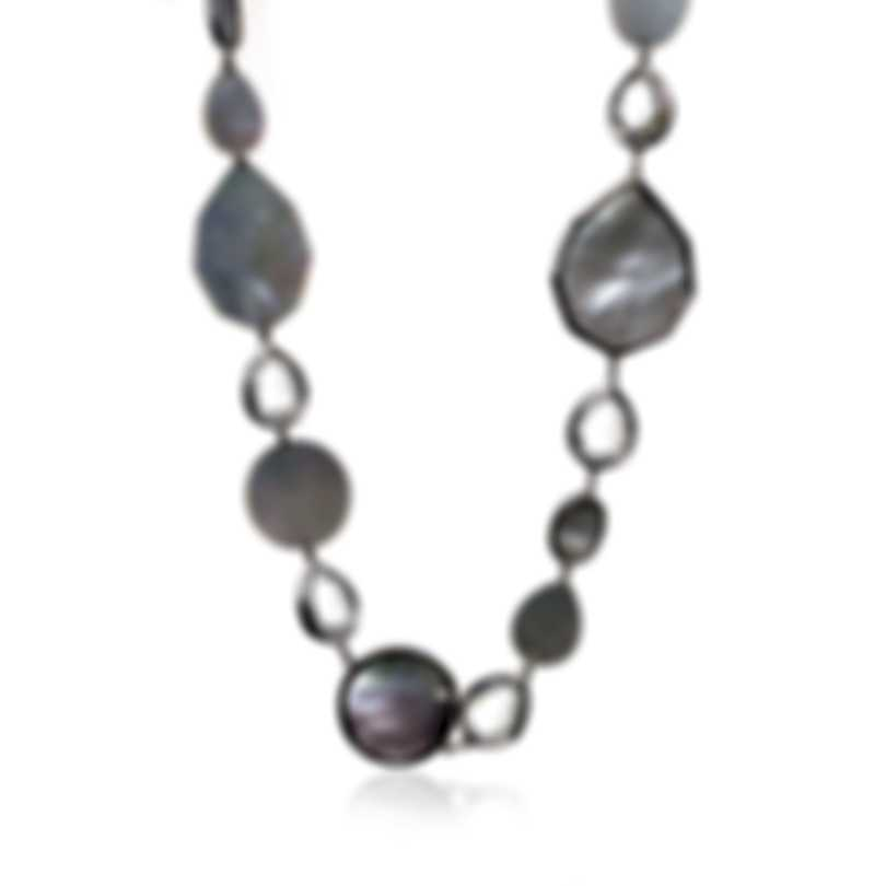 Ippolita Rock Candy Sterling Silver And Mother Of Pearl Necklace SN1708CQMOP