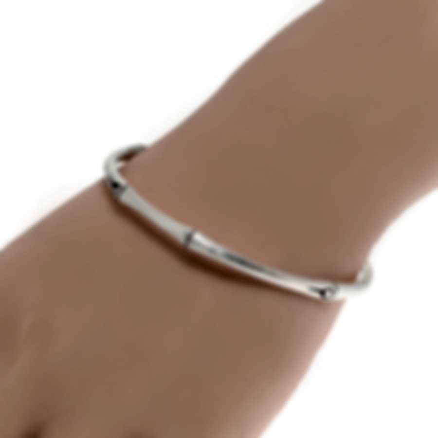 John Hardy Bamboo Sterling Silver Bracelet BB5713121BHXM
