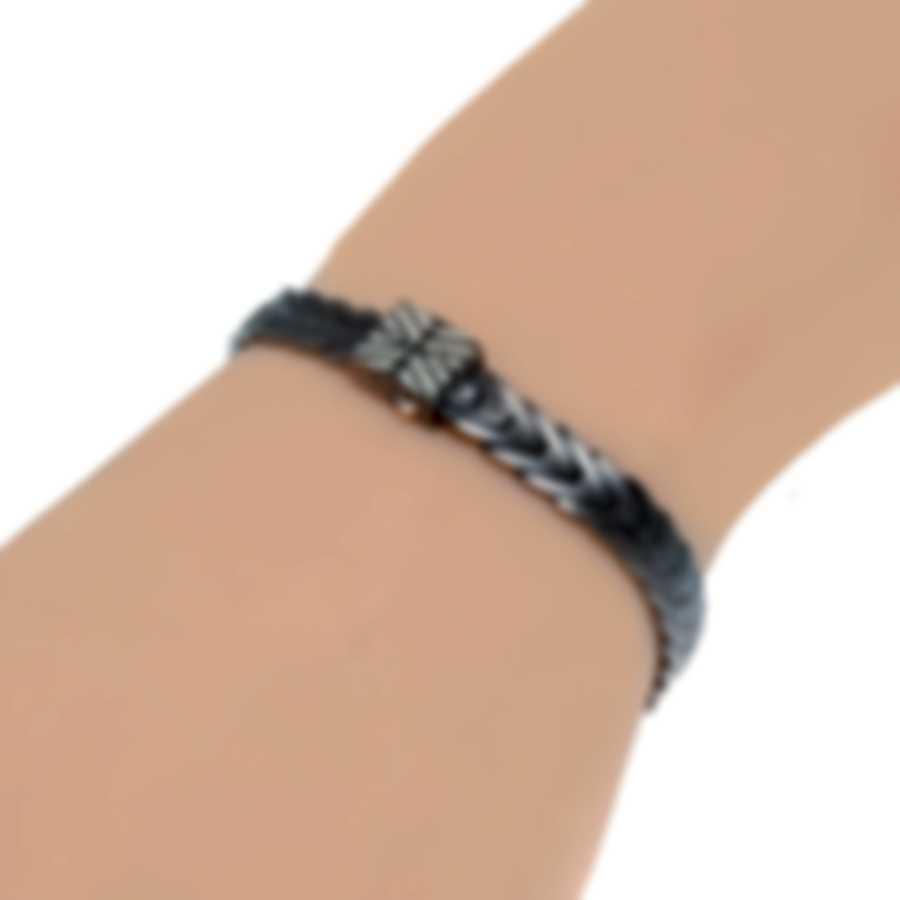 John Hardy Chain Sterling Silver Diamond 0.09ct Bracelet BBP932692BHBRDDIXM