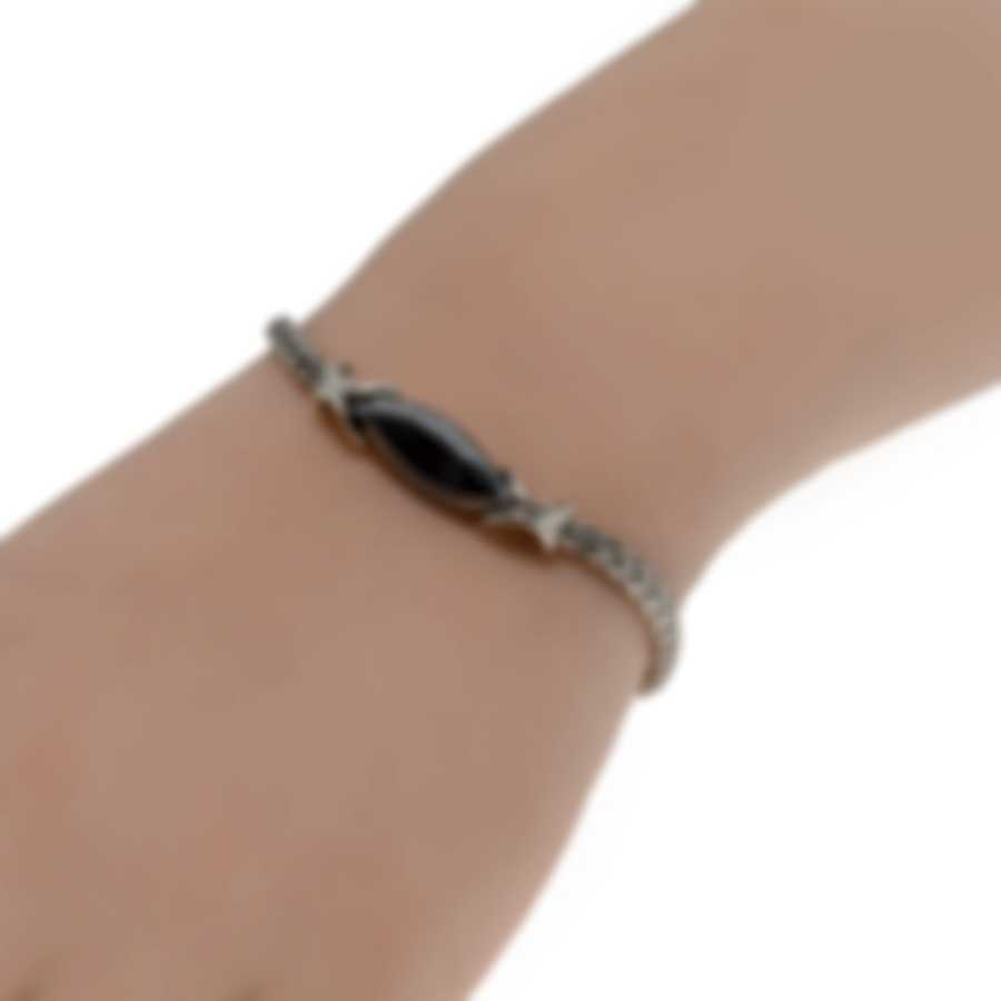 John Hardy Classic Chain Sterling Silver And Calcite Bracelet BBS903461SCCXM