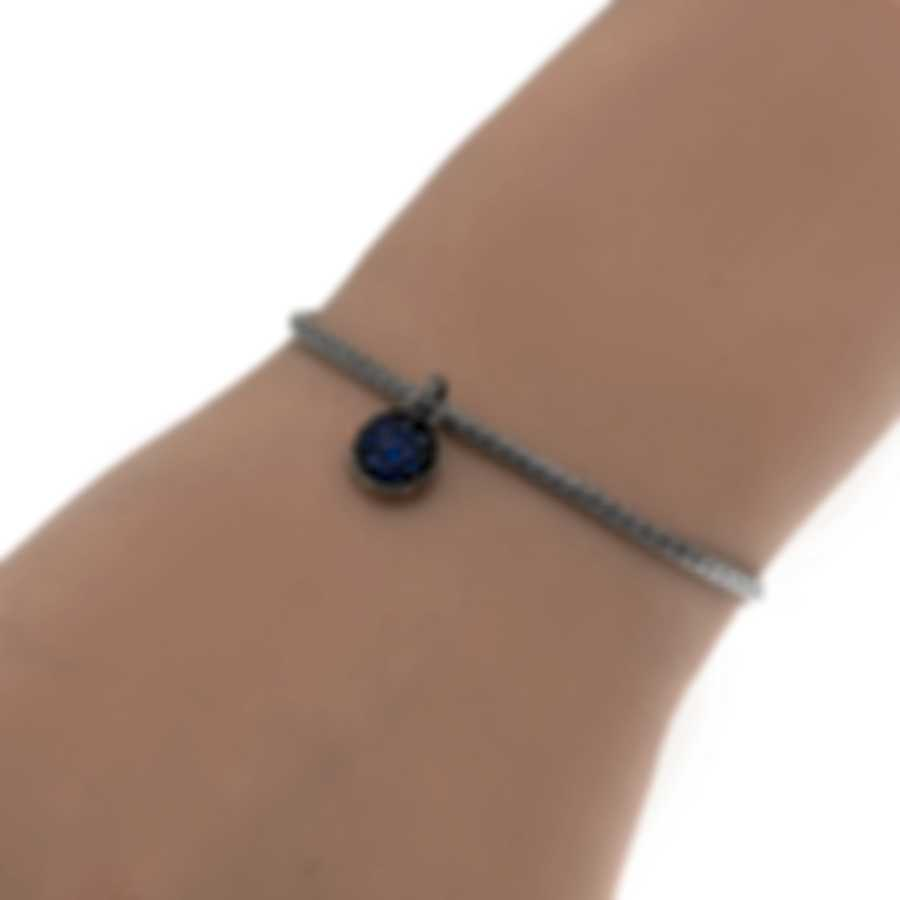 John Hardy Classic Chain Sterling Silver And Sapphire Bracelet BBS903904BSPXS