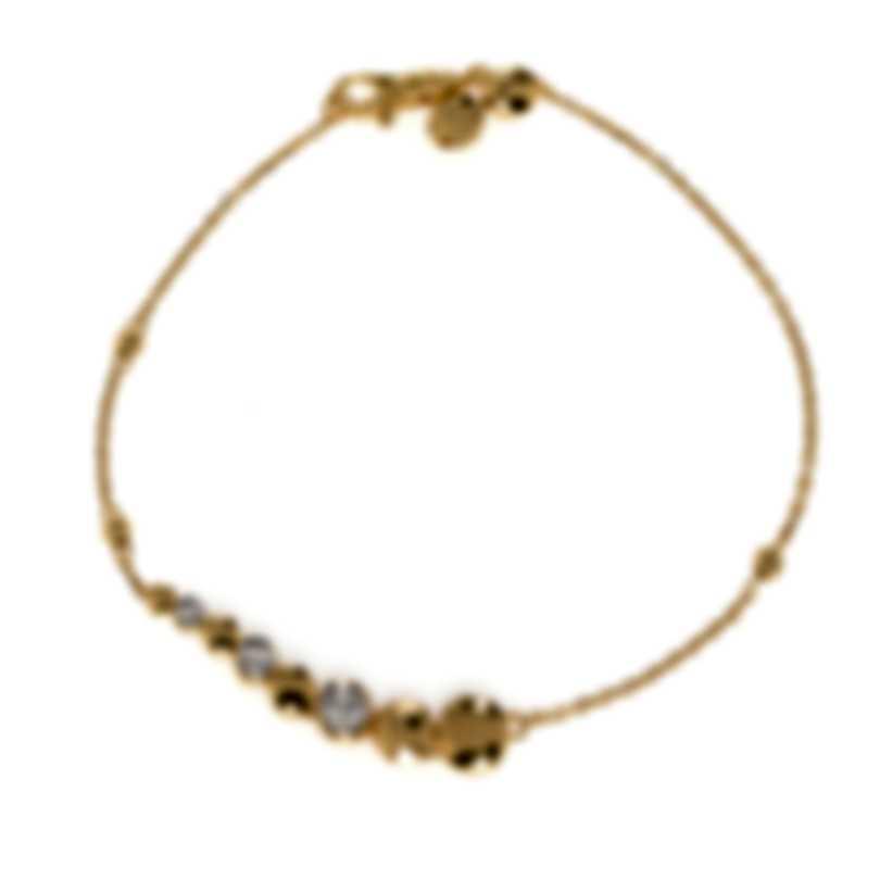 John Hardy 18k Yellow Gold Diamond 0.22ct Bracelet BGX300082DIXM-L