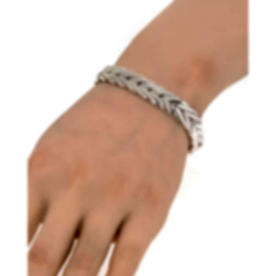 John Hardy Modern Chain Sterling Silver And Gold Bracelet BZ93270XM