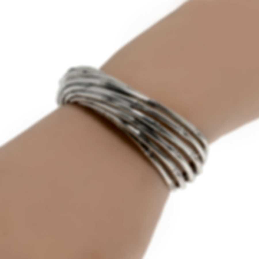 John Hardy Bamboo Sterling Silver Bracelet CB500511XM