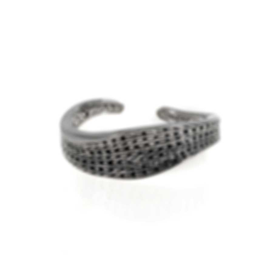 John Hardy Classic Chain Sterling Silver Bangle Bracelet CB999744XS