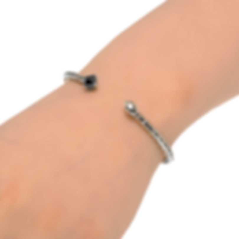 John Hardy Sterling Silver And Hematite Bracelet CBS903501HEXS-M