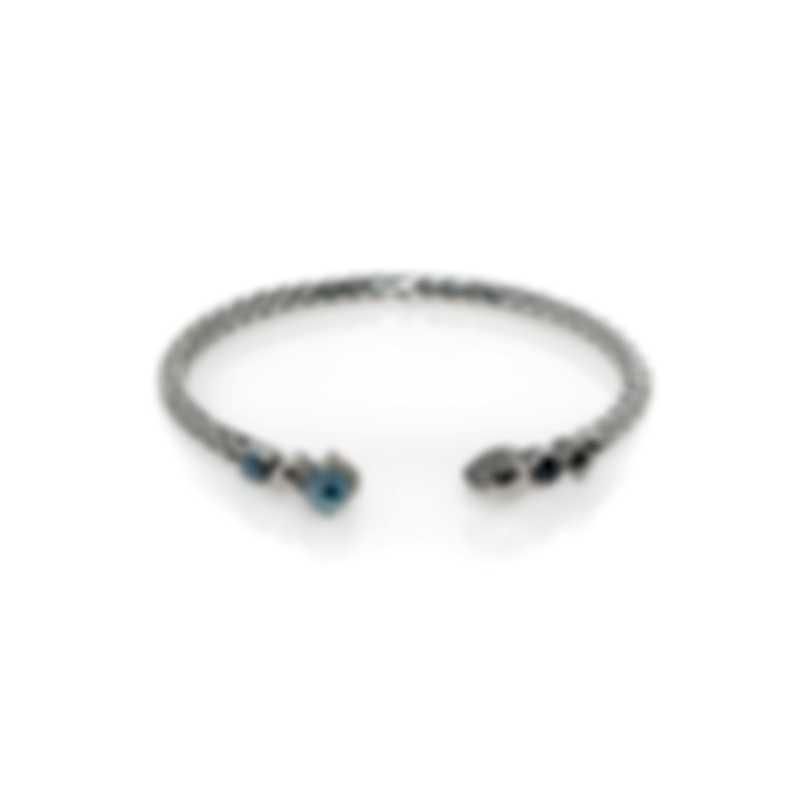 John Hardy Classic Chain Sterling Silver Spinel Bracelet CBS9035111HEPYSCCXS-M