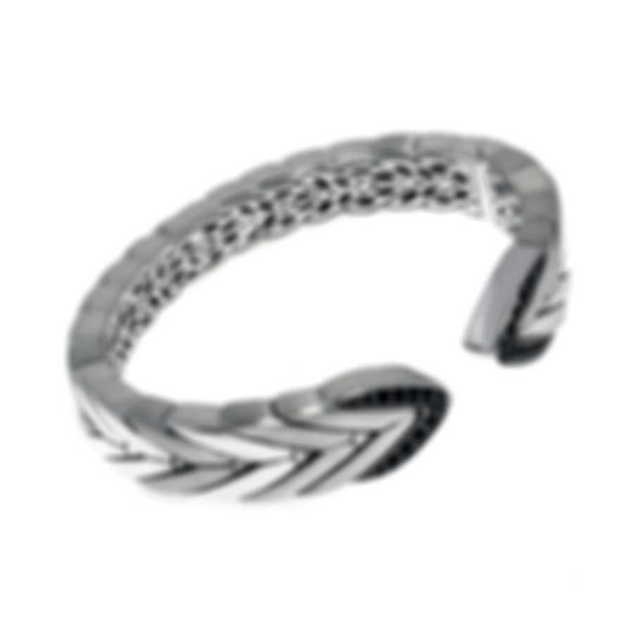 John Hardy Modern Chain Sterling Silver And Sapphire Bracelet CBS945334BHBLSXM