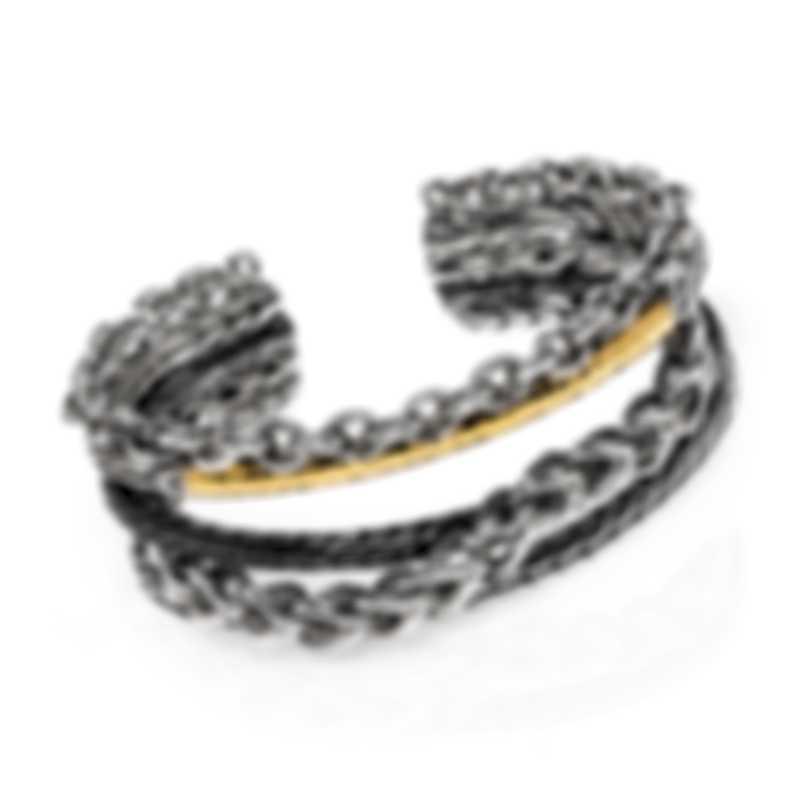 John Hardy Asli Sterling And 18k Bracelet CZ90367XS-M