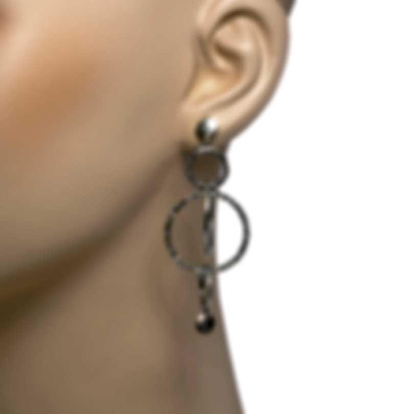 John Hardy Dot Orbit Sterling Silver Earrings EB34002