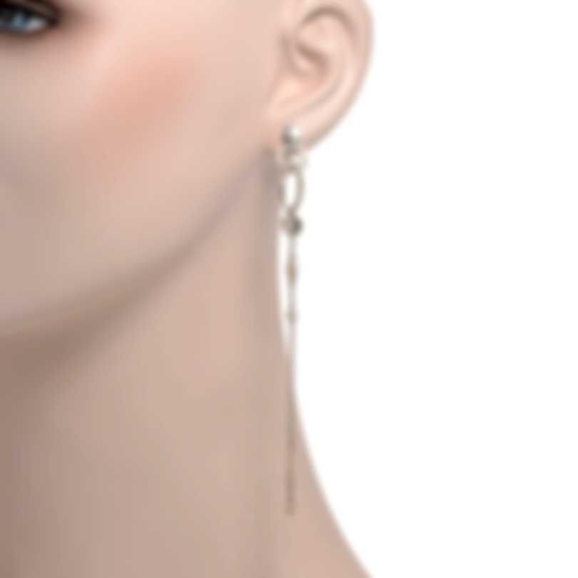 John Hardy Dot Sterling Silver Earrings EB34003