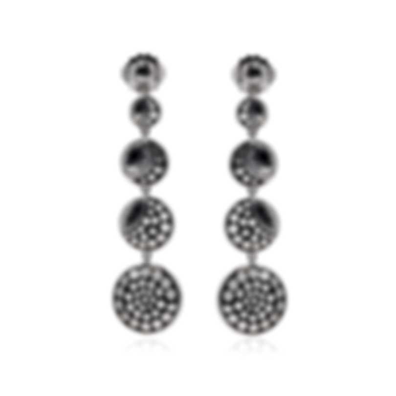 John Hardy Dot Moon Phase Sterling Silver Earrings EB39059