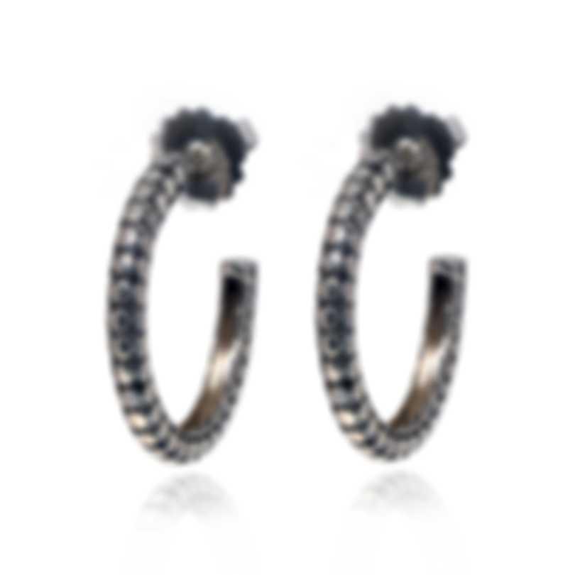John Hardy Dot Sterling Silver Earrings EB3907