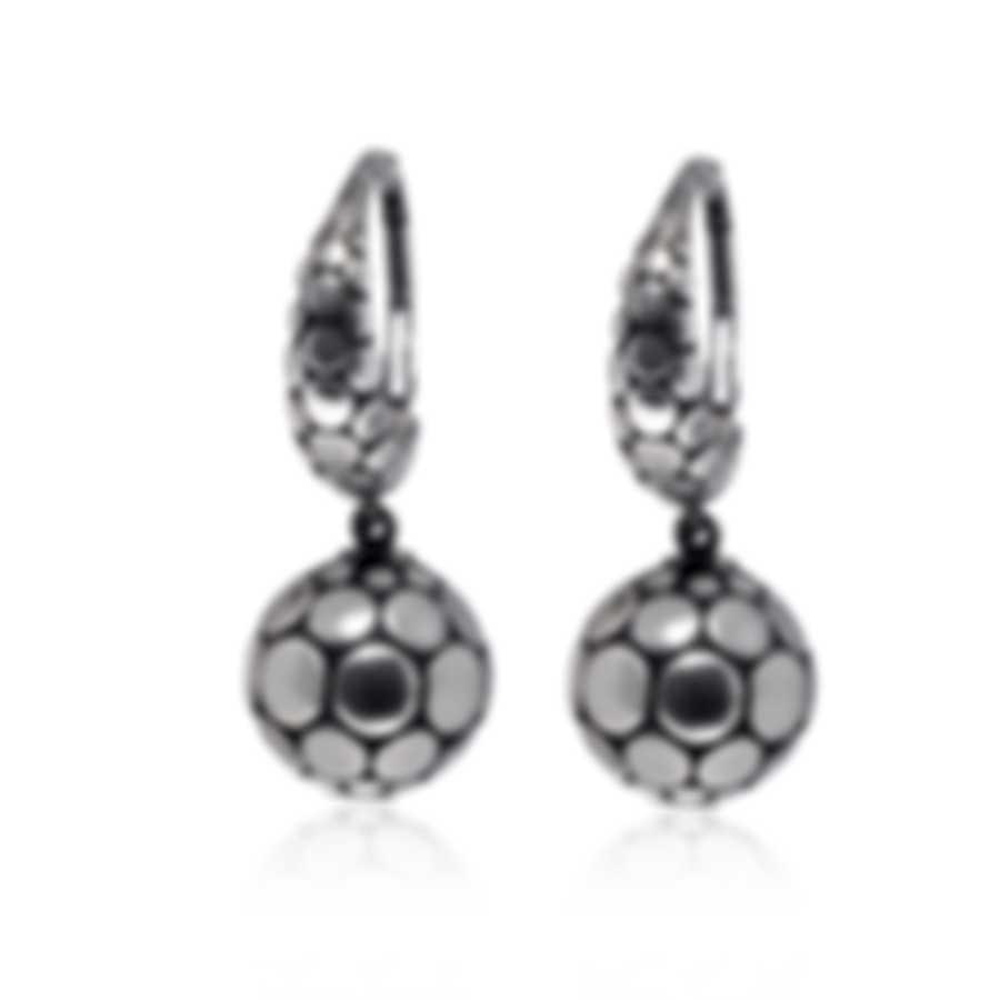 John Hardy Dot Sterling Silver Earrings EB39243