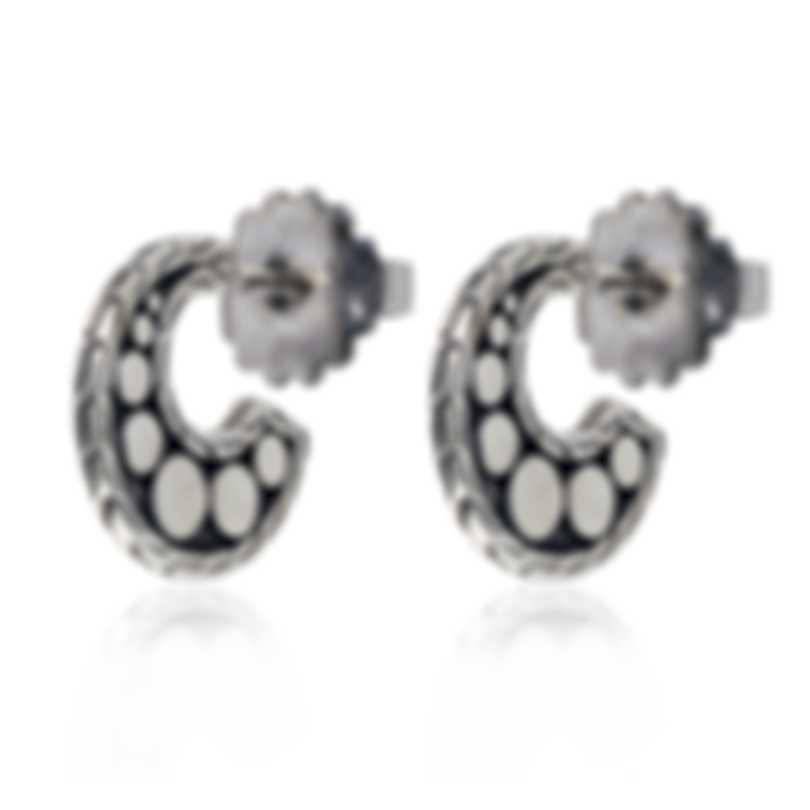 John Hardy Dot Sterling Silver Earrings EB30057