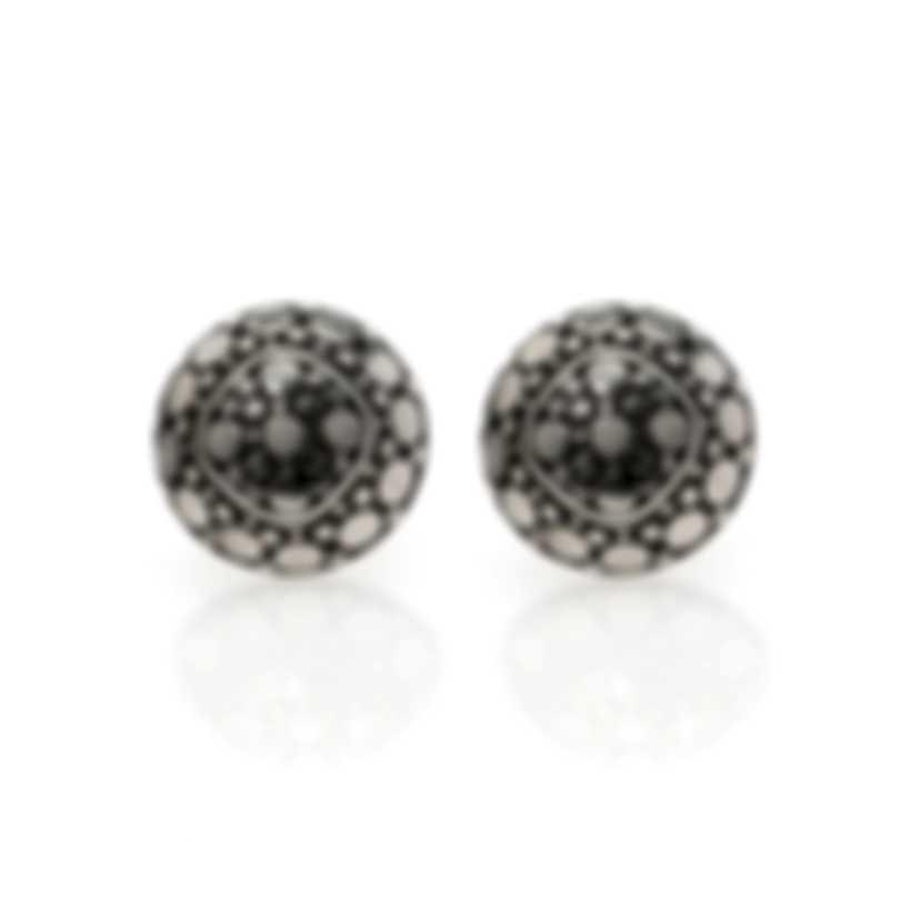 John Hardy Sterling Silver Dot Earrings EB33017