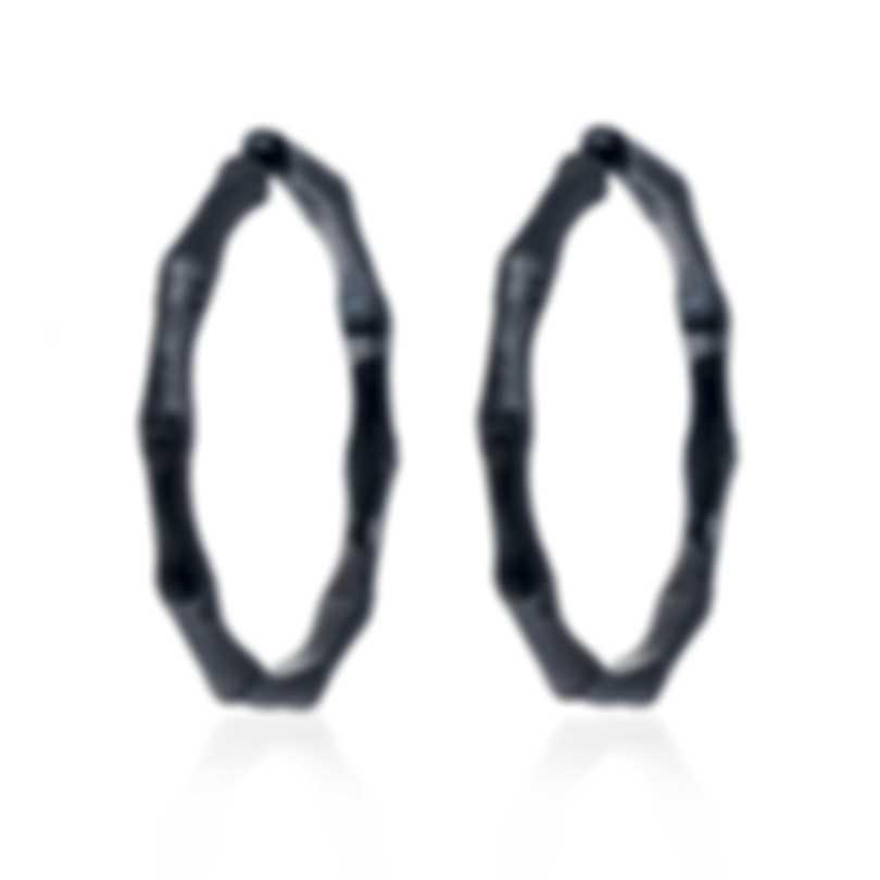 John Hardy Bamboo Sterling Silver Earrings EB5433BHMBRD