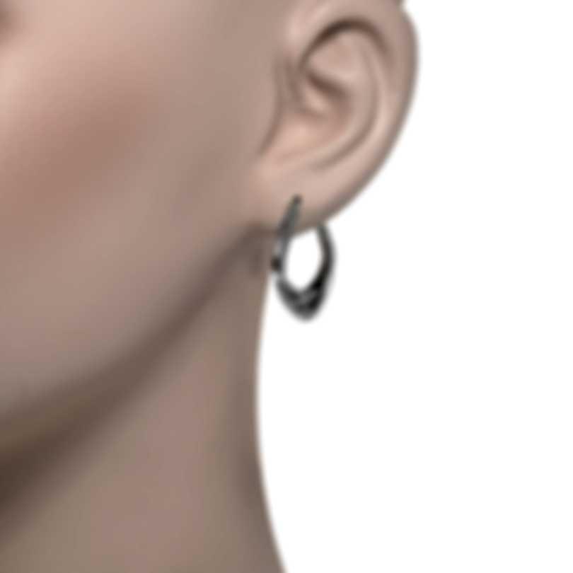 John Hardy Bamboo Sterling Silver Earrings EB50042