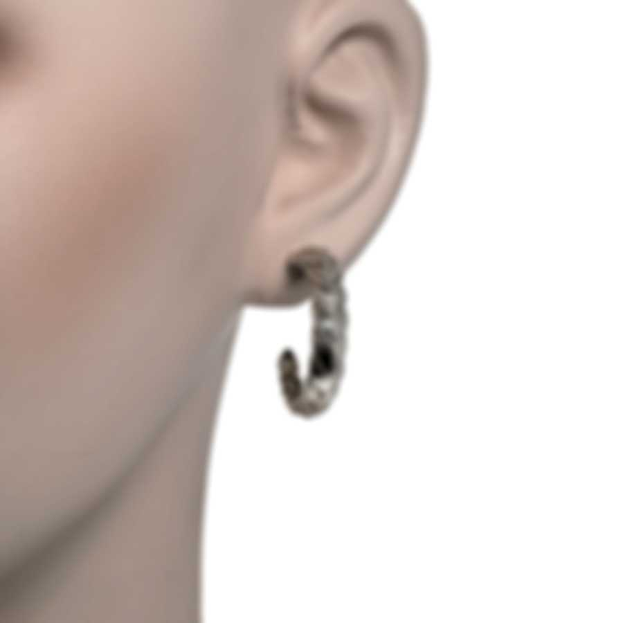 John Hardy Legends Naga Sterling Silver Earrings EB650126