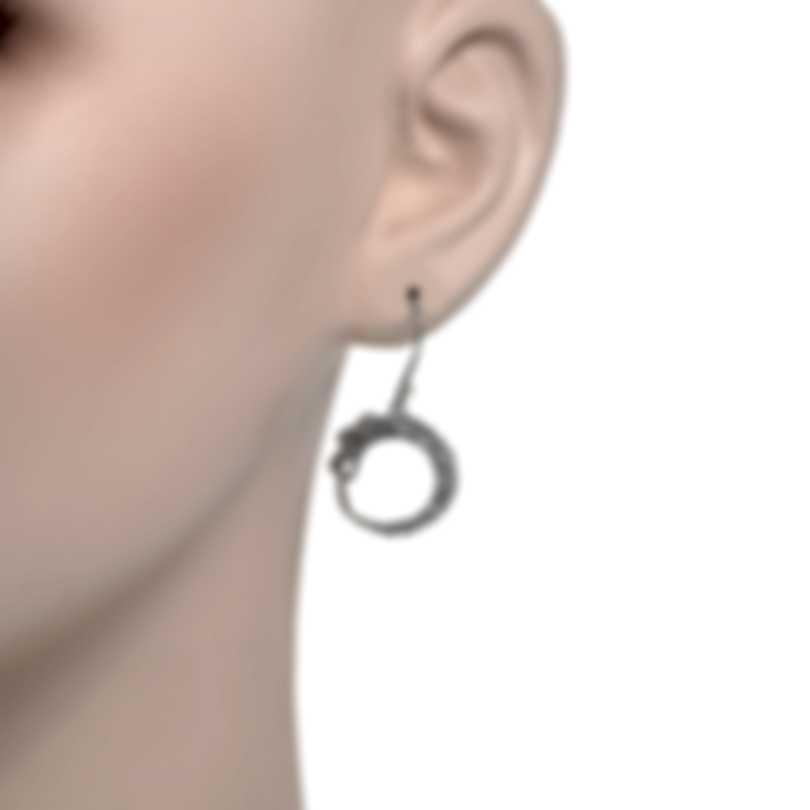 John Hardy Legends Naga Sterling Silver Earrings EB65521