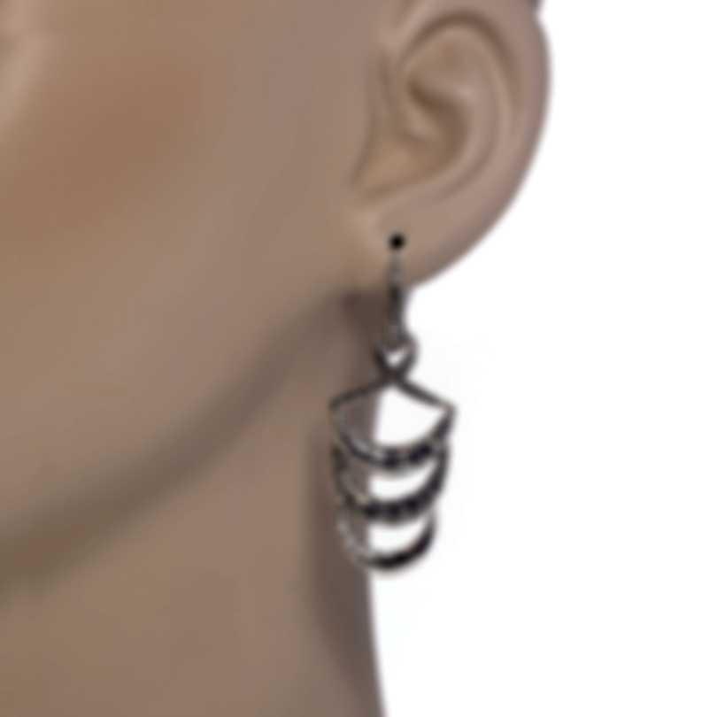 John Hardy Classic Chain Sterling Silver Earrings EB999740