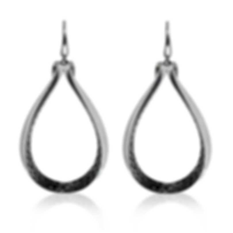John Hardy Classic Chain Sterling Silver Earrings EB90235