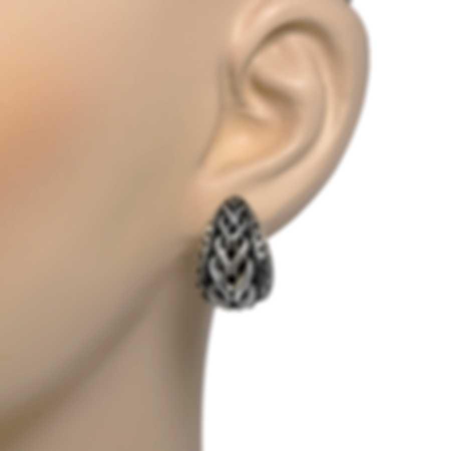 John Hardy Asli Sterling Silver Earrings EB90372