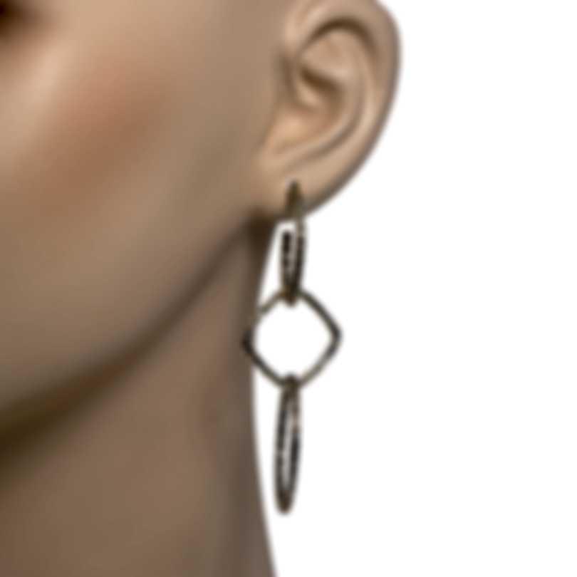 John Hardy Classic Sterling Silver Earrings EB90629