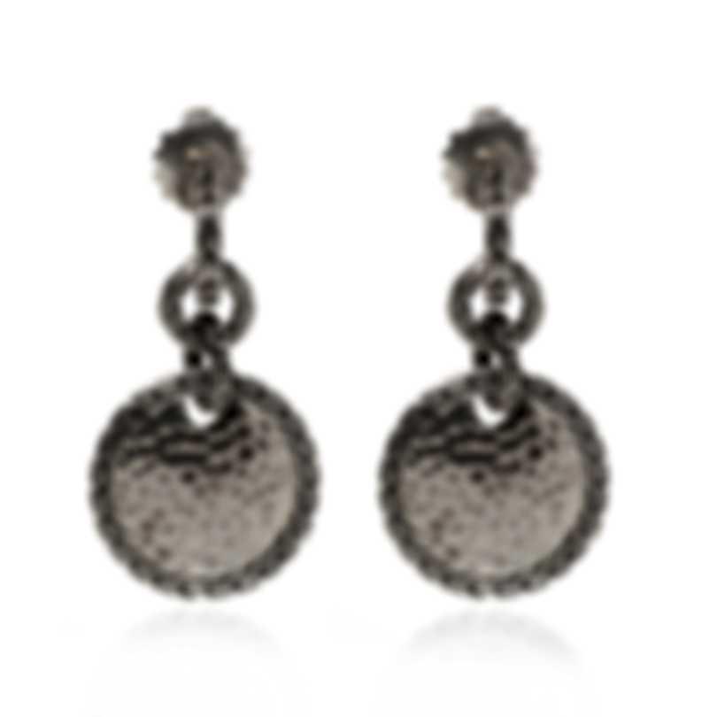 John Hardy Classic Chain Sterling Silver Earrings EB90634