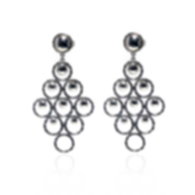 John Hardy Dot Sterling Silver Earrings EB90630