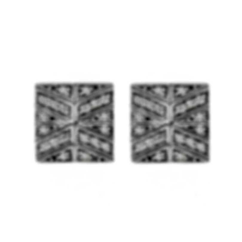 John Hardy Classic Chain Sterling Silver Diamond 0.28ct Earrings EBP933142DI