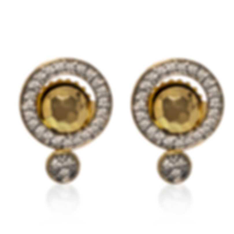 John Hardy Dot 18k Yellow Gold Diamond 0.20ct Earrings EGX340112DI