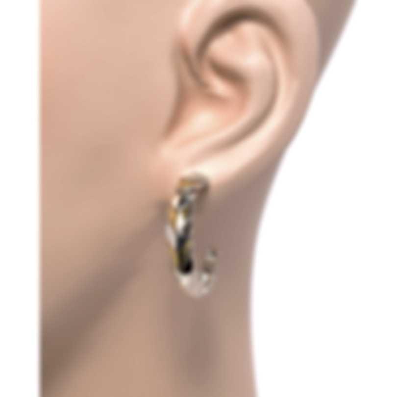 John Hardy Legends Naga Sterling Silver And Gold Earrings EZ650126