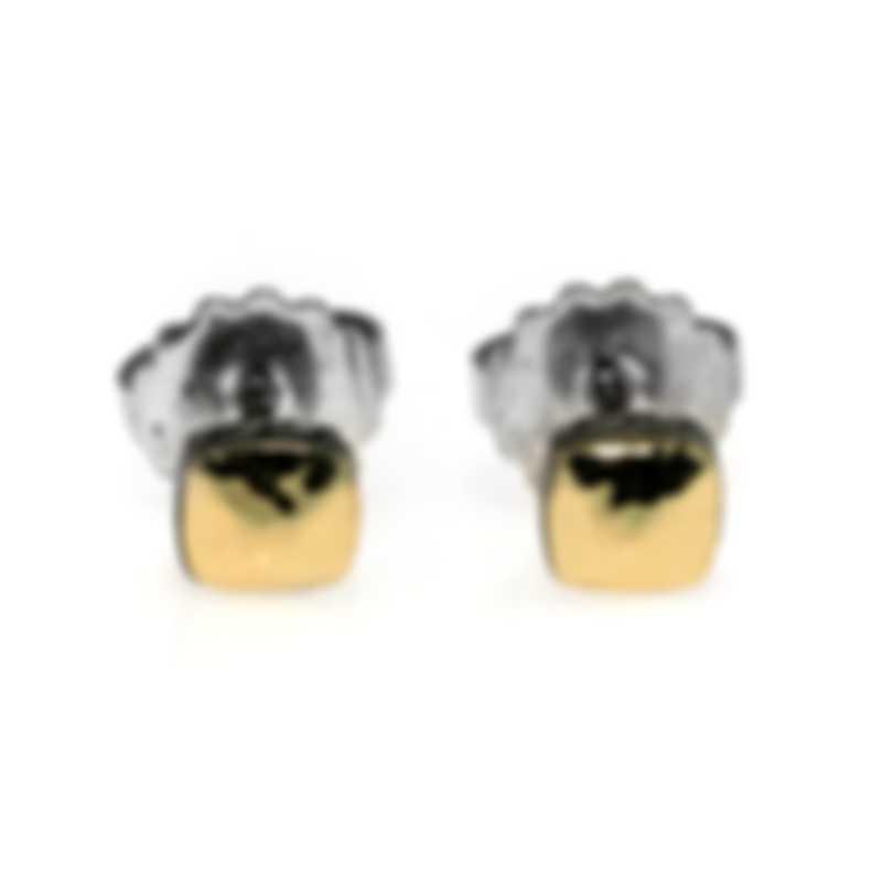 John Hardy Sterling Silver And 18k Yellow Gold Earrings EZ90513