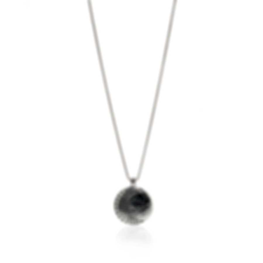 John Hardy Dot Moon Phase Sterling Silver Necklace NB39057X36