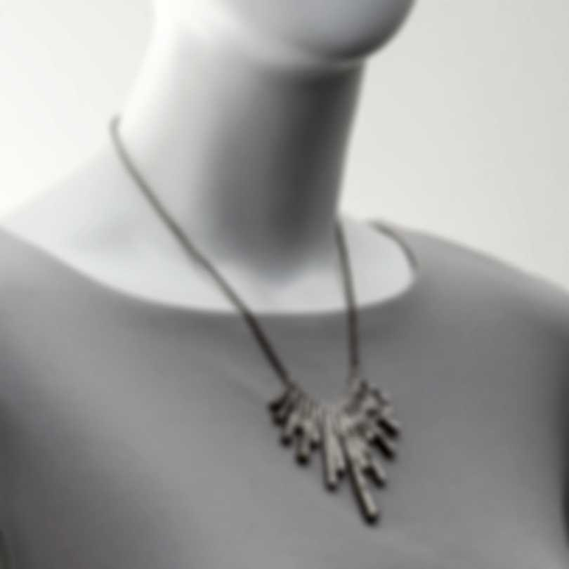 John Hardy Bamboo Sterling Silver Necklace NB5959X16-18