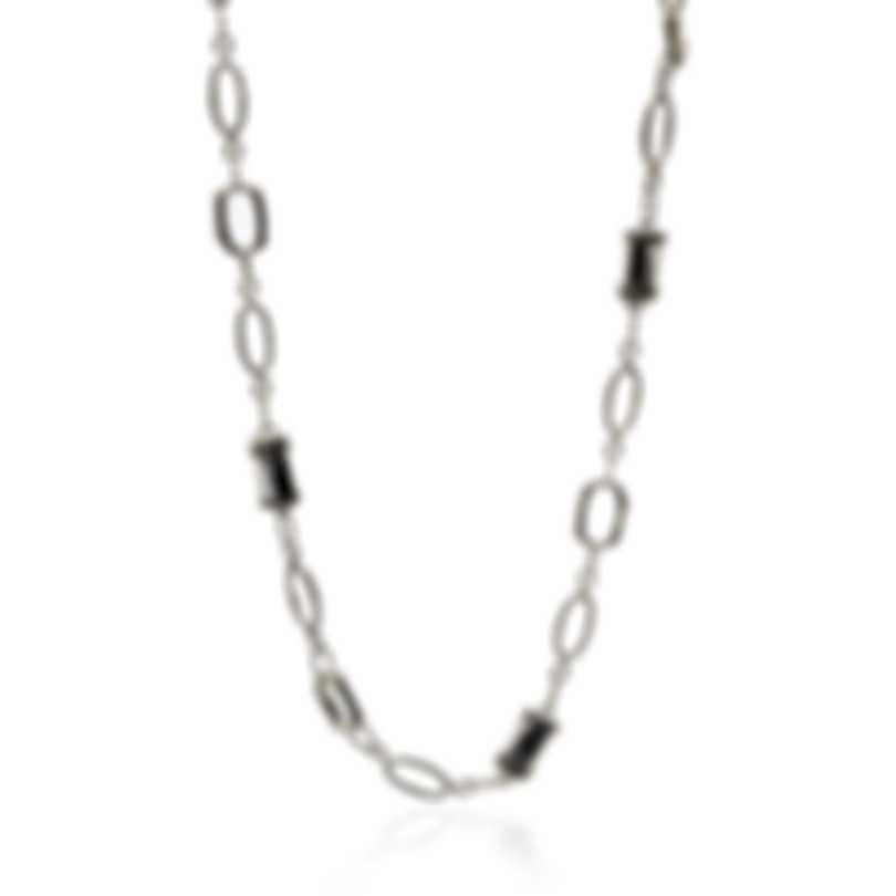 John Hardy Sterling Silver Bamboo Necklace NB5191X24